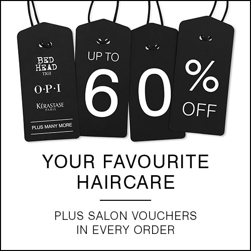 Black Friday 60% off haircare