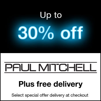 Up to 30% off Selected Paul Mitchell